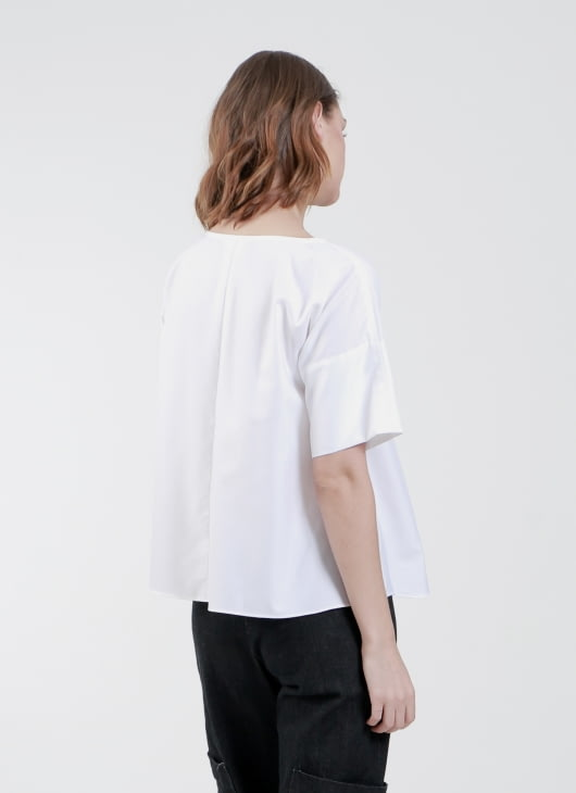 Krom Collective White Irene Top
