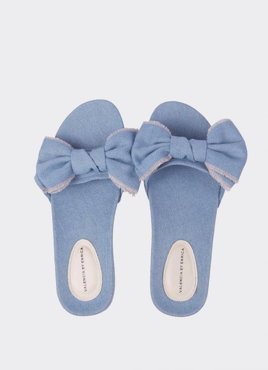Valencia Blue Jennie Sandal
