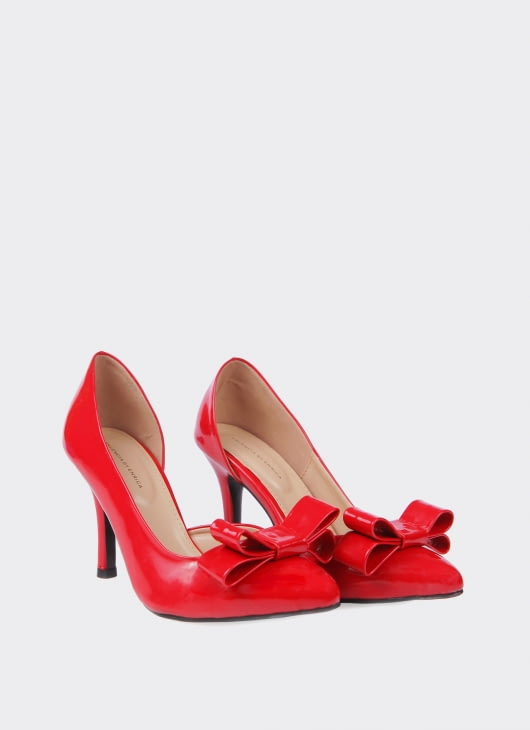 Valencia Red Anne Heels