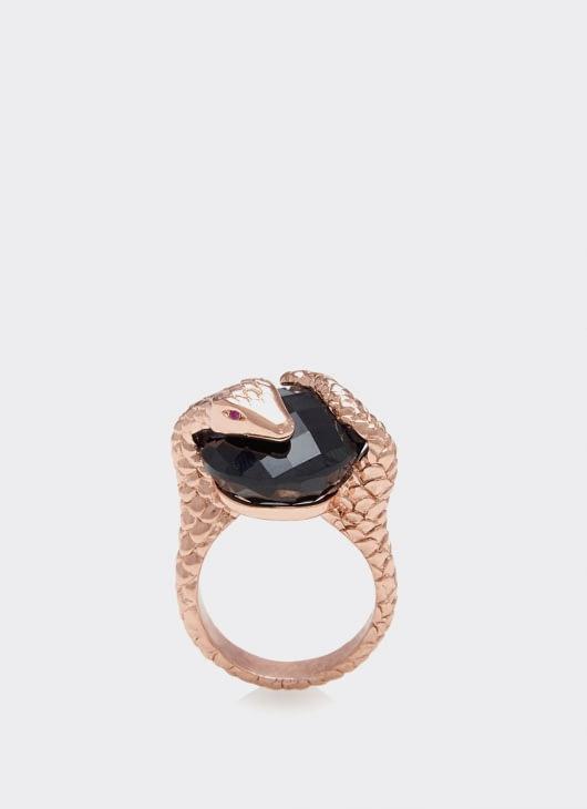 Alexandra Alberta Black Onyx Gaia Ring