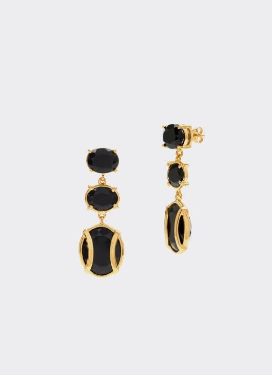 Alexandra Alberta Black Onyx Lexington Earrings