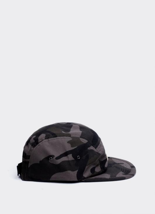 Cool Caps Gray Camo Mou Camp Cap
