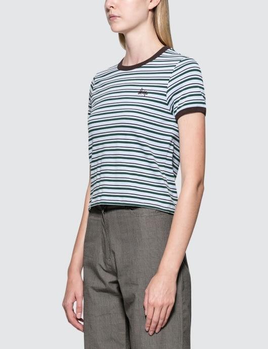 Stussy Frankie Ringer S/S T-Shirt