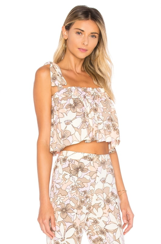 For Love & Lemons Renata Tank Top