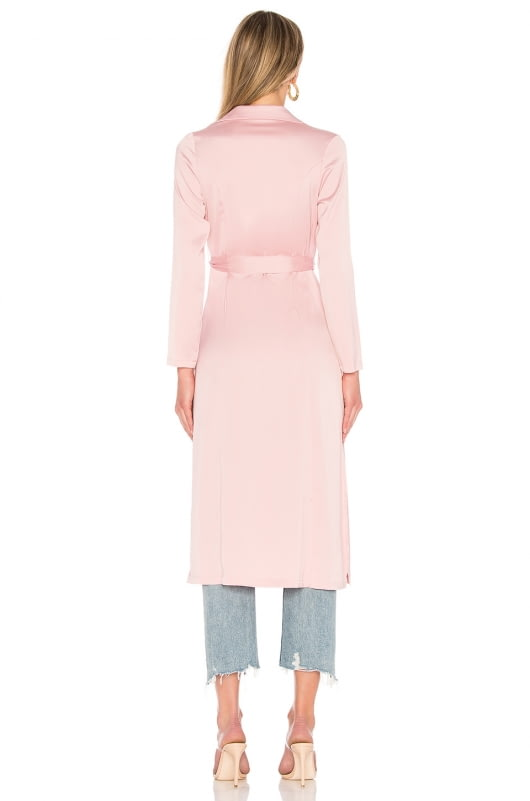 by the way. Naomi Satin Duster