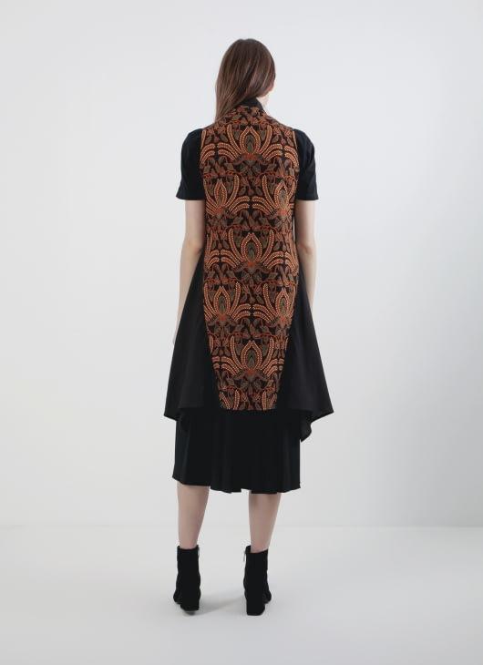 Rianty Batik Black Lusy Vest