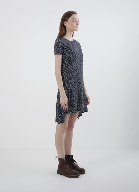 Rianty Batik Black Asyila Dress