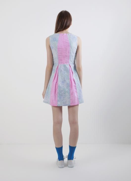 Rianty Batik Gray Laurel Dress