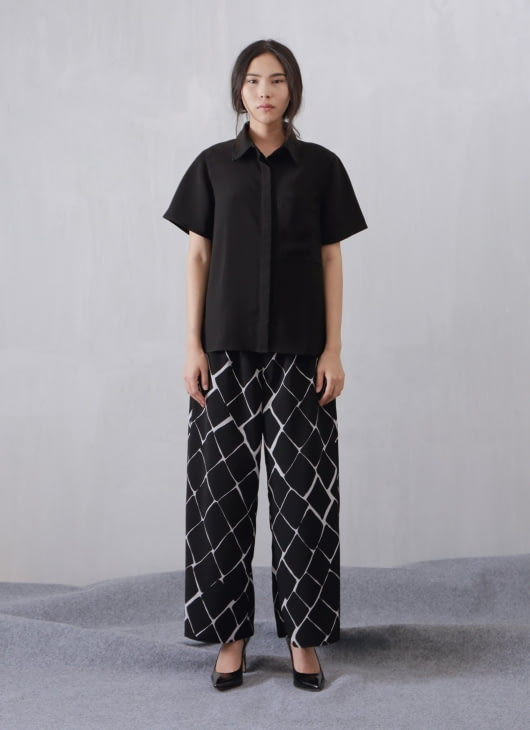 Wastu Black Pyjama Shirt