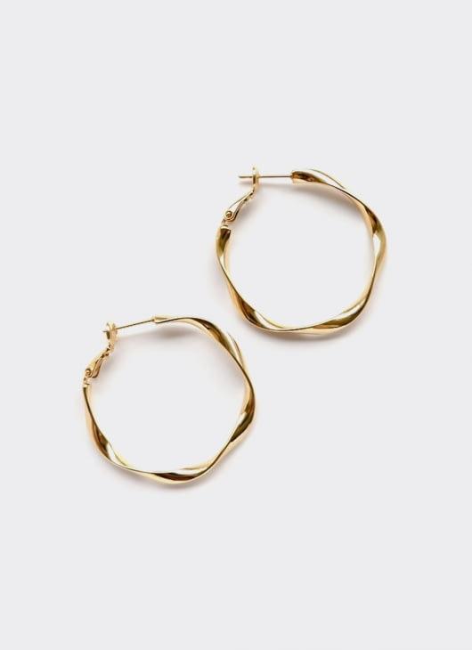 SERRA Gold Shashi Hoop Earrings