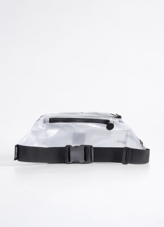 Scissors Paper Rock White J13-WA'BEC Waist Bag