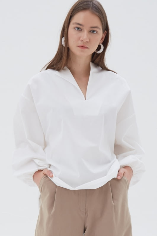 Shopatvelvet Alex Top White