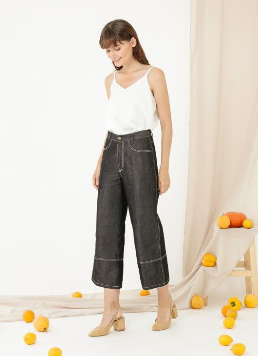 CLOTH INC Ed Culottes - Black
