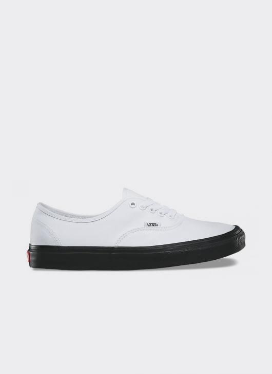 VANS Black & White UA Authentic Low Top Sneakers