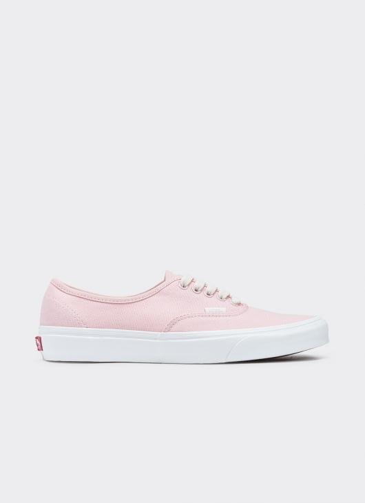 VANS Pink UA Authentic Herringbone Low Top Sneakers