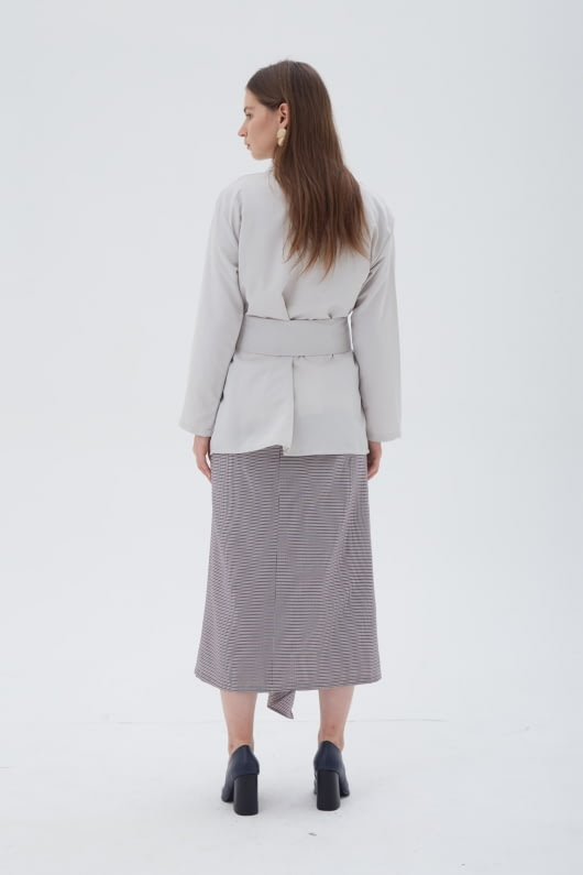 Shopatvelvet Alps Kimono Grey