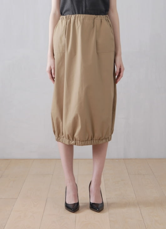Wastu Balloon Skirt - Brown
