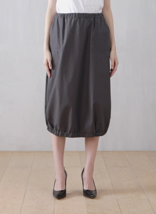 Wastu Balloon Skirt - Gray
