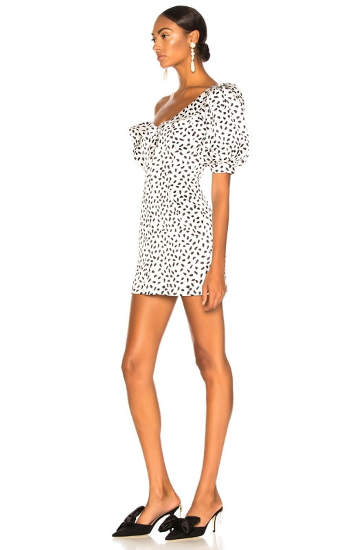 self-portrait Dot Printed Dress