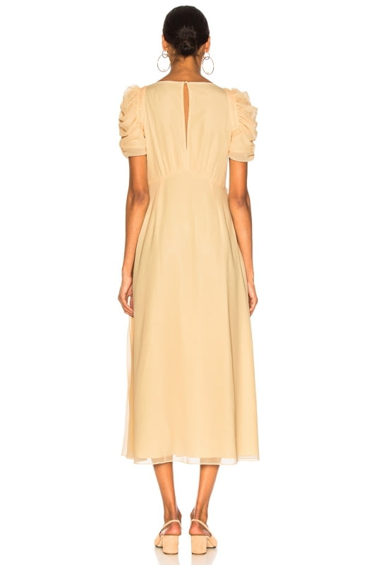 self-portrait Chiffon Midi Dress