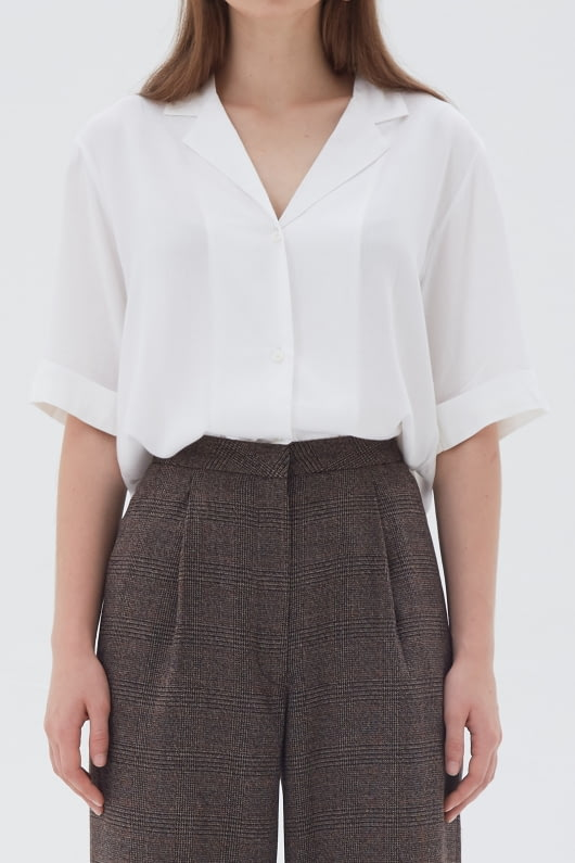 Shopatvelvet Ease Shirt White
