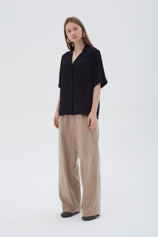 Shopatvelvet Ease Shirt Black