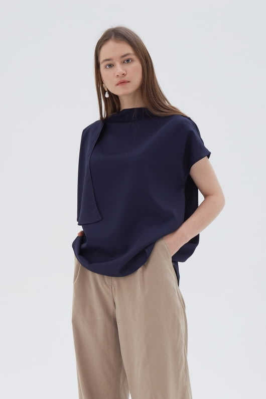 Shopatvelvet Flap Top Navy