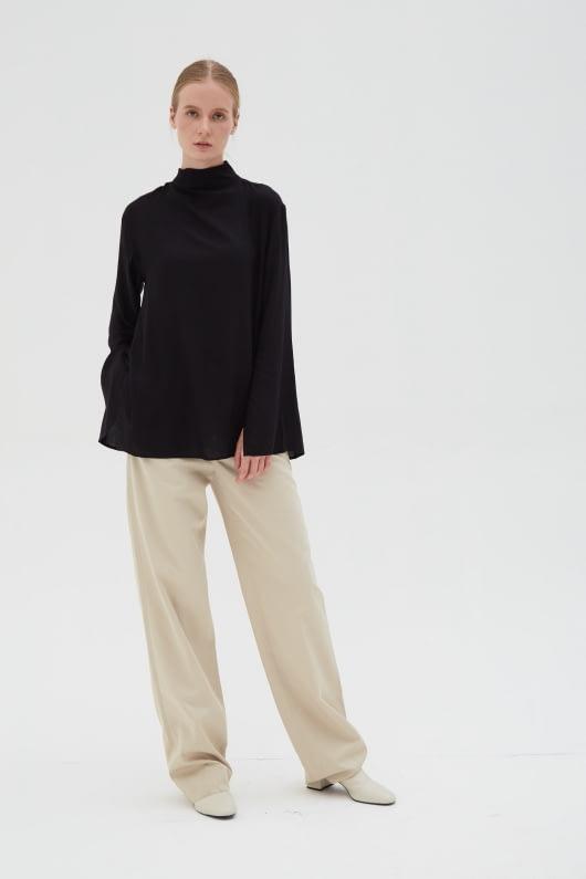 Shopatvelvet Lea Top Black