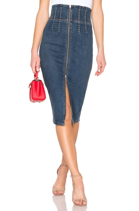Current/Elliott The Tribly Pencil Skirt
