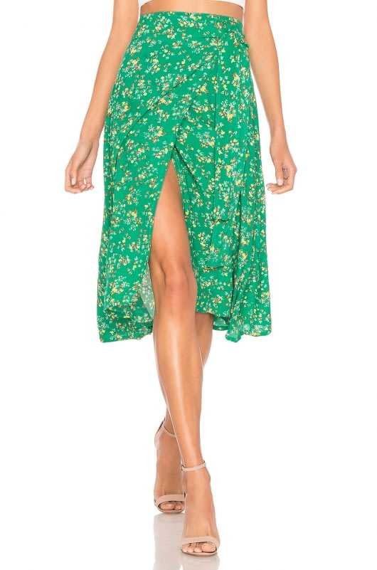 FAITHFULL THE BRAND Valencia Wrap Skirt