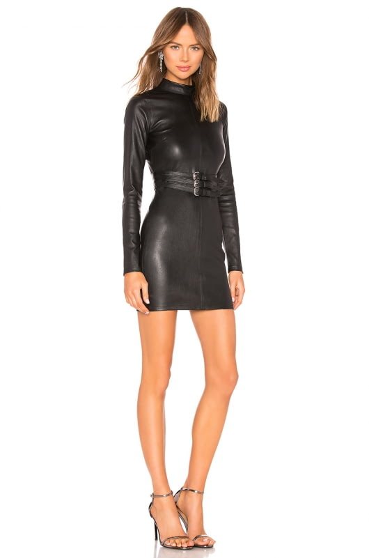 RtA Domino Leather Dress