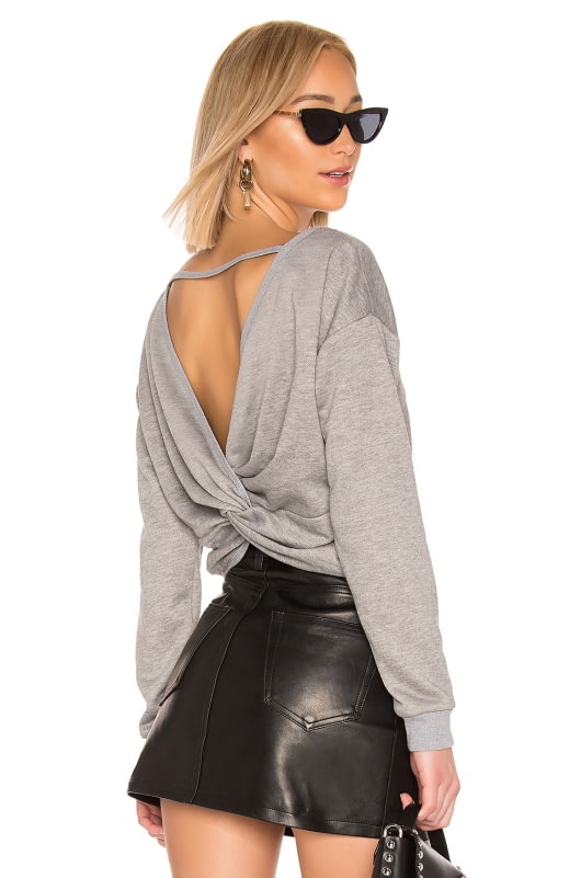 by the way. Odessa Twist Back Top