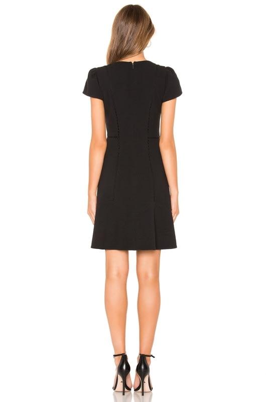 Rebecca Taylor Stretch Texture Mini Dress