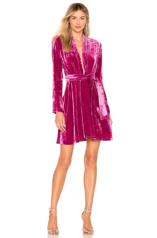 A.L.C. Kiera Velvet Dress