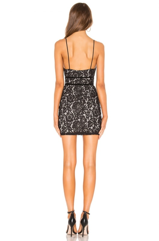 by the way. Aria Lace Mini Dress
