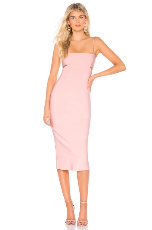 BEC&BRIDGE Cut Out Midi Dress