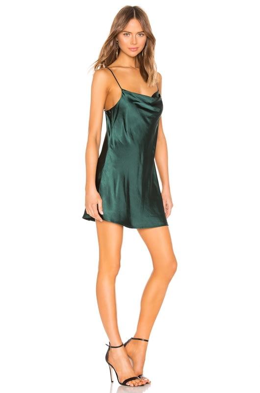 Capulet Jade Slip Dress