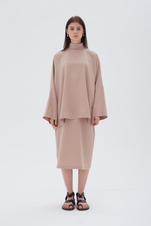 Shopatvelvet Phase Skirt Beige