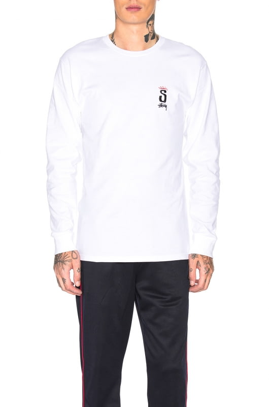 Stussy S Crown Long Sleeve Tee