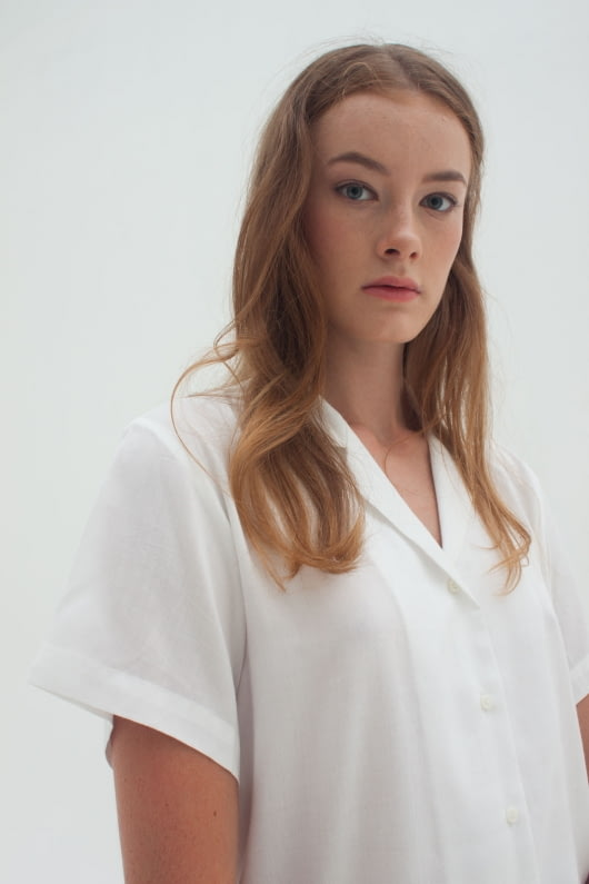 Shopatvelvet Light Shirt White