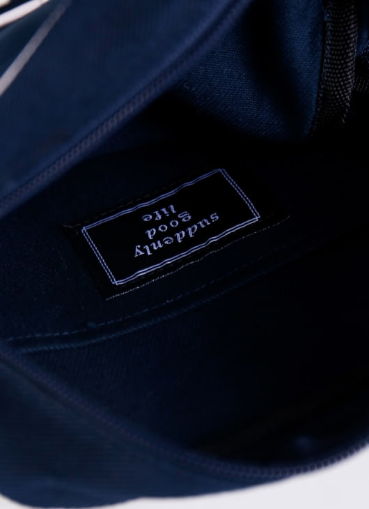 suddenly good life ##/02 Sling Bag - Navy
