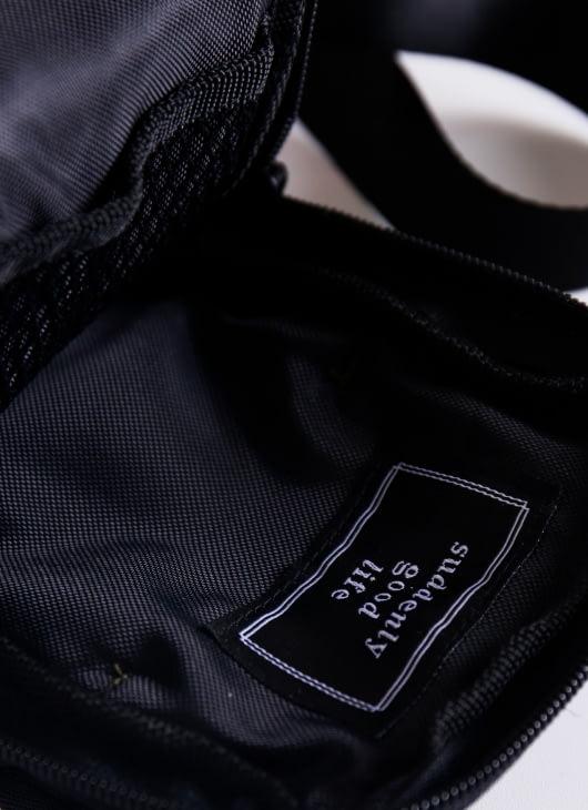suddenly good life ##/03 Sling Bag - Black