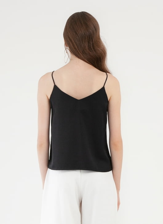 CLOTH INC Multi Strap Tank Top - Black