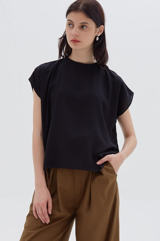 Shopatvelvet Casey Top Black