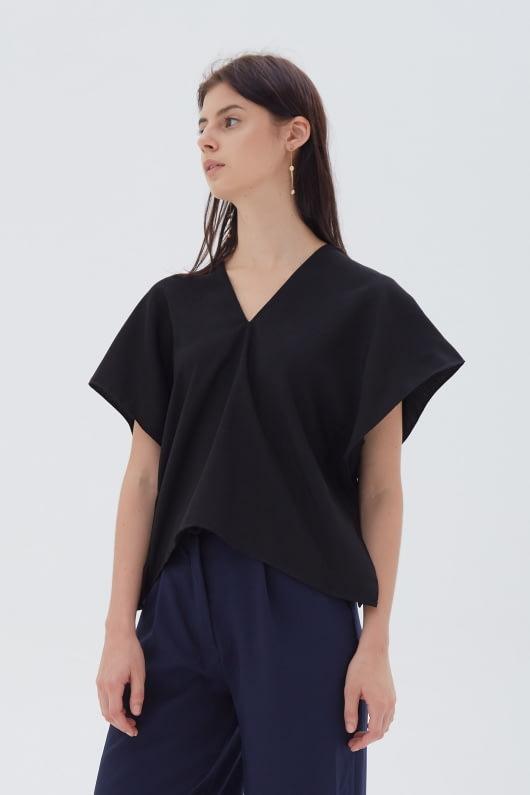 Shopatvelvet June Top Black