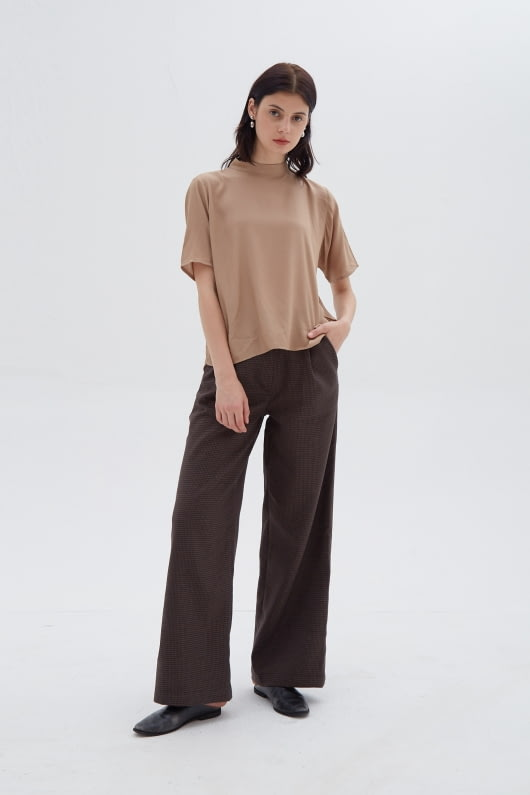 Shopatvelvet Sora Top Beige