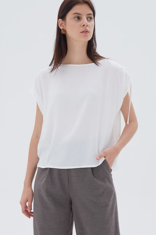 Shopatvelvet Lite Top White