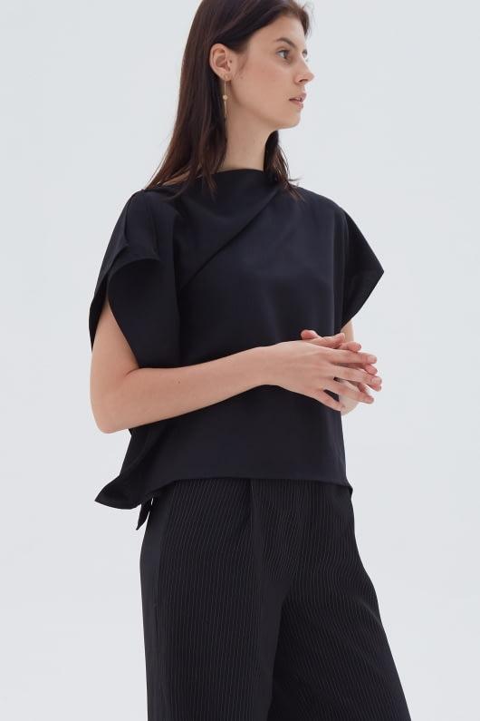 Shopatvelvet March Top Black