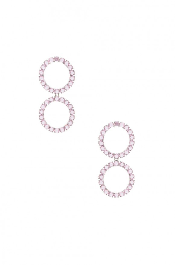 For Love & Lemons Crystal Ball Earrings S7T5PRcr
