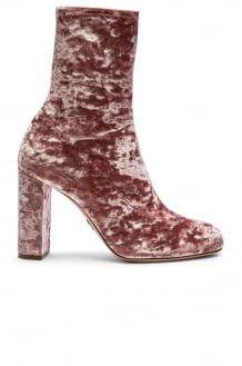 Oscar Tiye Velvet Giorgia Boots